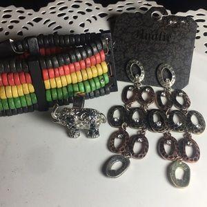 Jewelry - Earrings,bracelet & ring